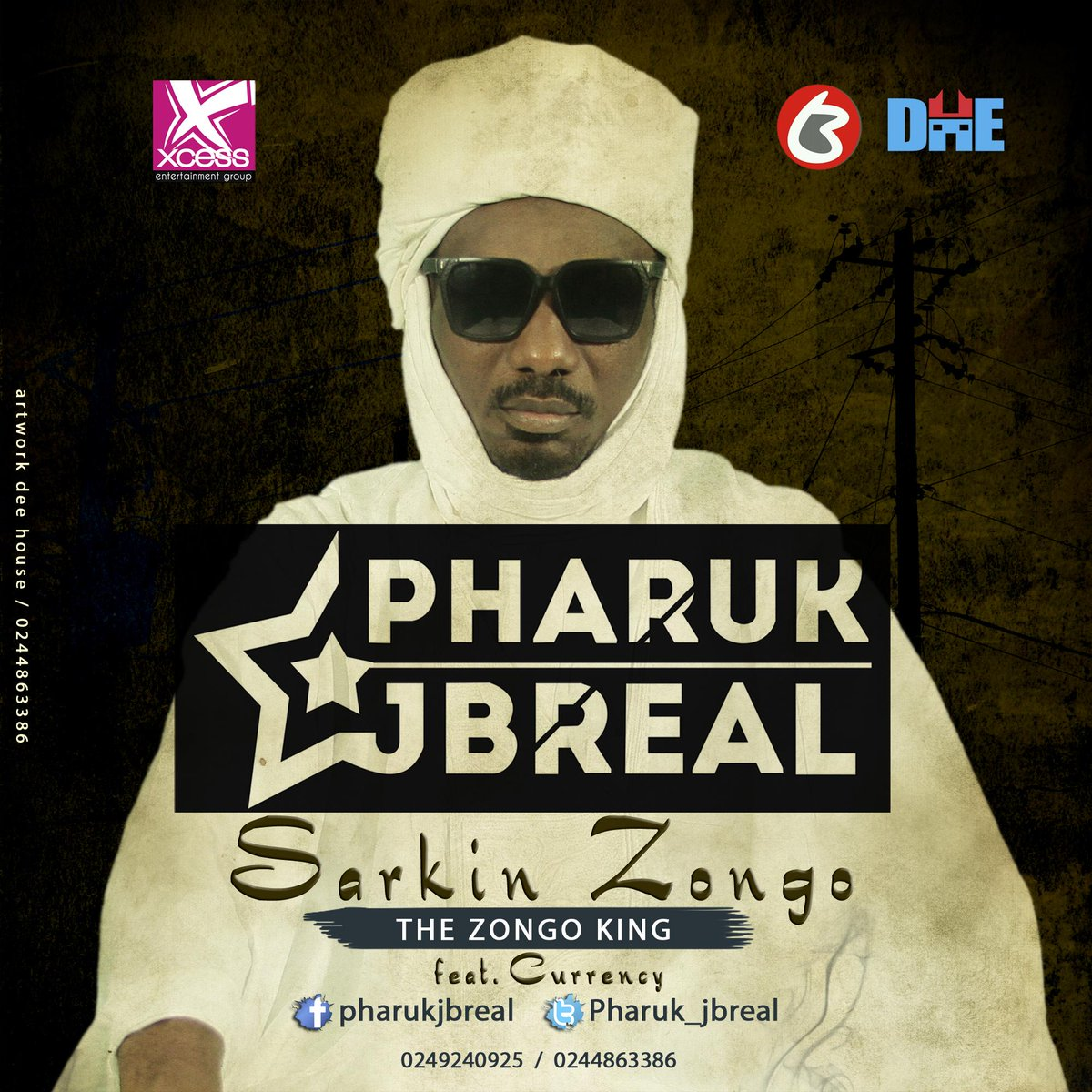 HOT SINGLE FROM GHANAs NO1 Urban Hausa Rapper @Pharuk_Jbreal ft @Currency_TBNM (ZONGO KING)  http://t.co/iSkMM2q8dY http://t.co/WPxiGx08YF