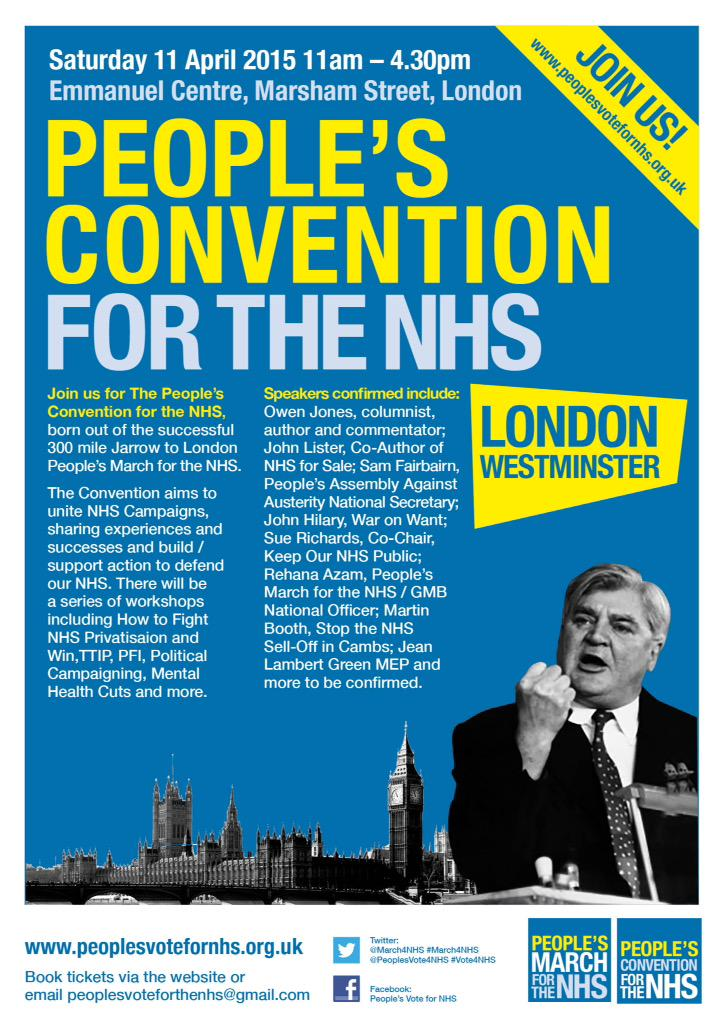 RT @peoplesvote4nhs: Great to have @FrancesOGrady @michaelsheen #KenLoach @OwenJones84 supporting @NHS_Convention https://t.co/TyAcvdNdbk h…