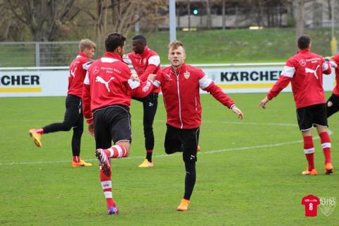 #VfB players return from their international duties & come straight to the training grounds #maxim #kostic #sereydie <br>http://pic.twitter.com/gsSFBFPAky