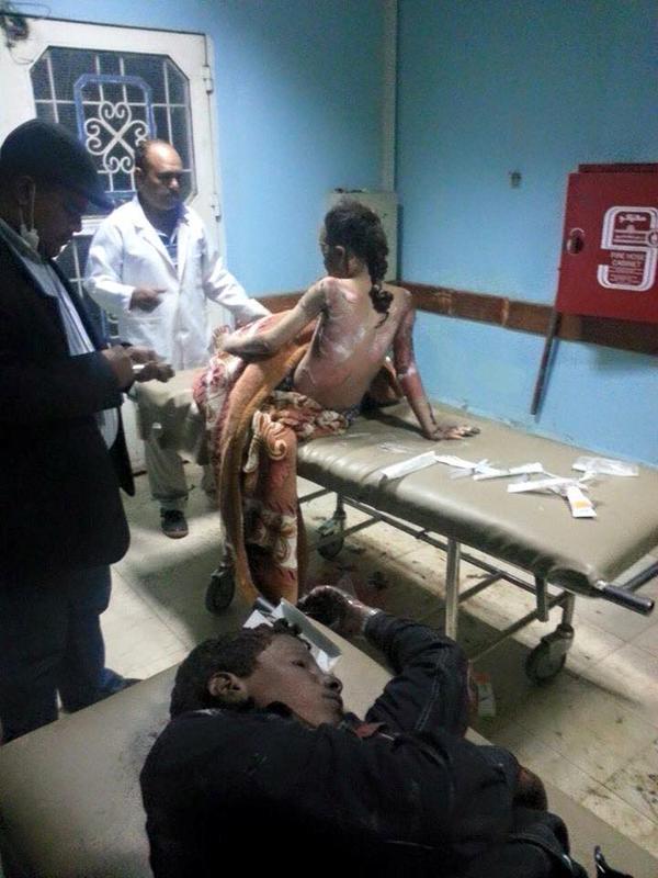 بالصور: اول استهداف للتواجد الايراني في اليمن #عاصفة_الحزم (عـــــاجل) CBbSexqUIAAiFvA