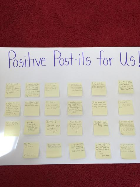 #cantiague @TonySinanis Celebrating our accomplishments on Positive Post-it Day! http://t.co/SdRancxSEZ