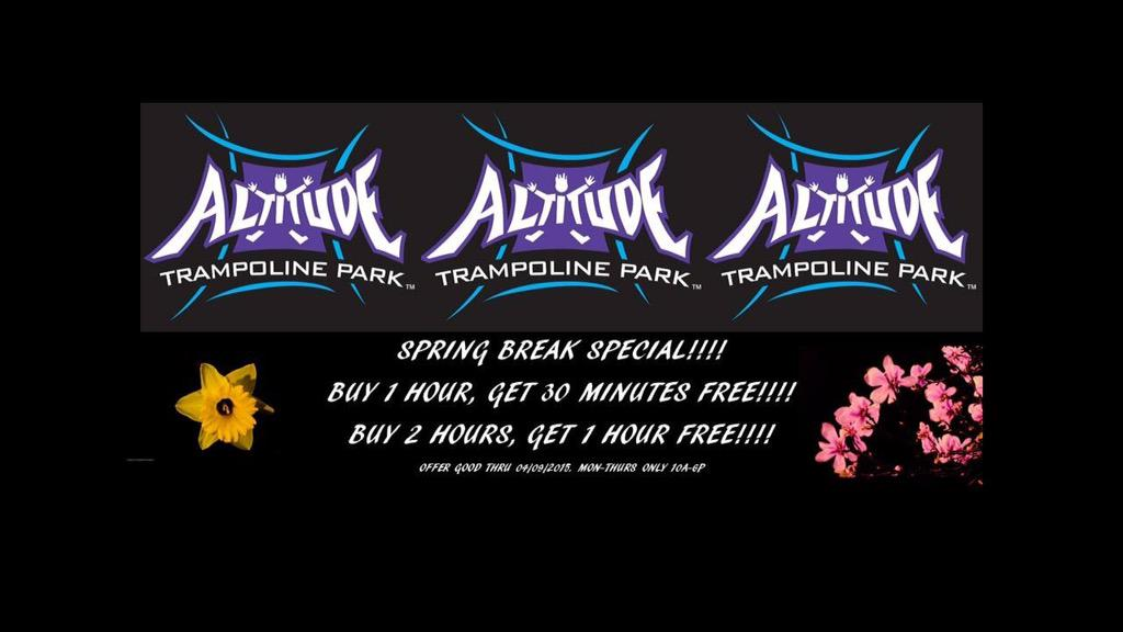 altitude bossier on twitter attention altitude jumpers show this coupon when you come in and get some free time mwho doesn t like free http t co ah9i7jmgcj altitude bossier on twitter attention