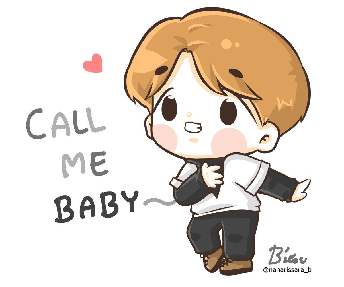 "B'น้อย on Twitter: ""CALL ME BABY - 82.0KB"