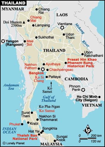 detailed map of korat thailand - HD1080×1504