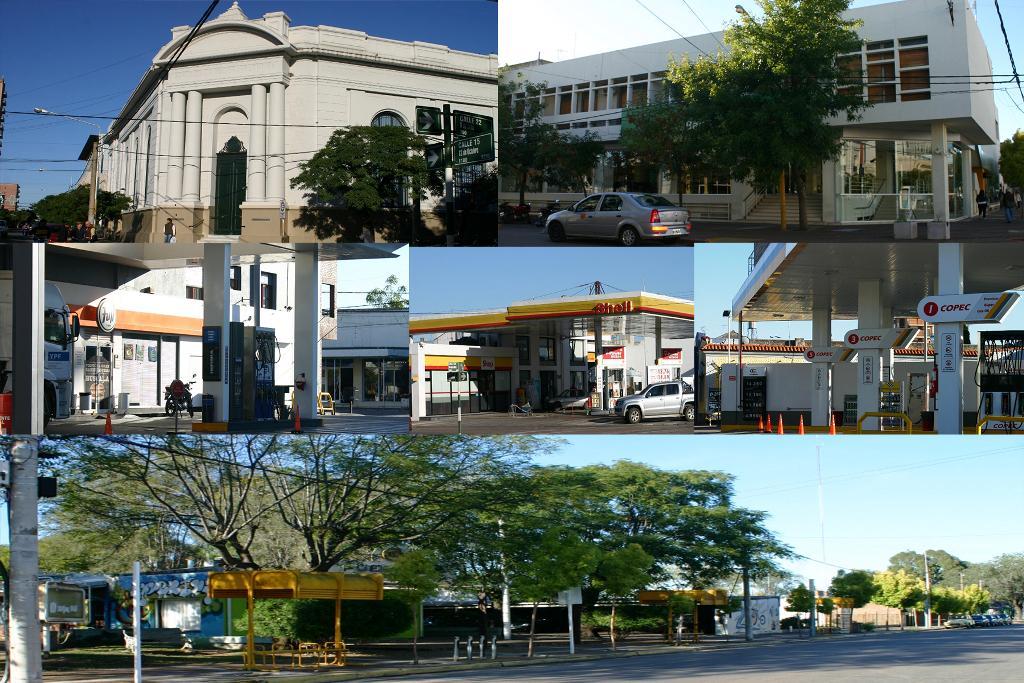 Gral. Pico | El Paro se sintió en estaciones de servicio, colectivos y bancos