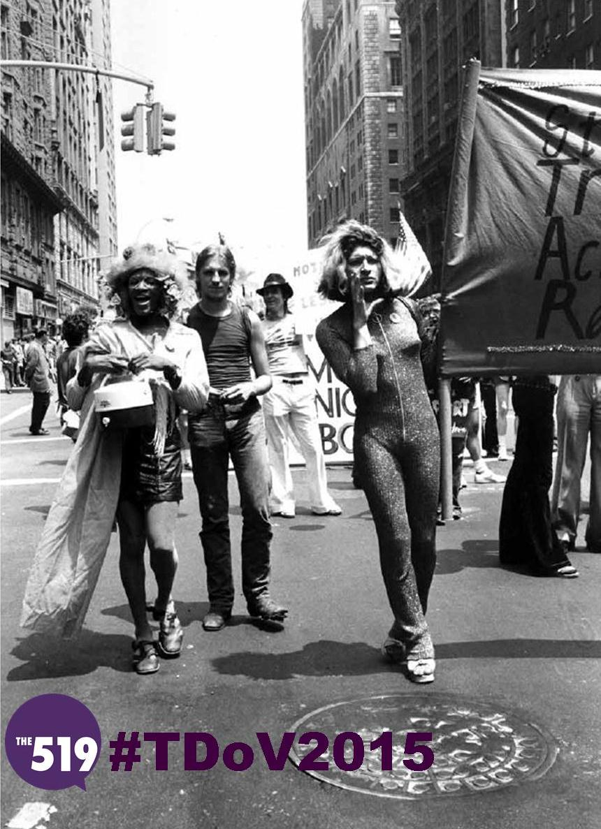 Honouring women who fought for the rights of all queer and trans people #TDoV2015 #KnowYourHistory http://t.co/A3i1AbJwMt