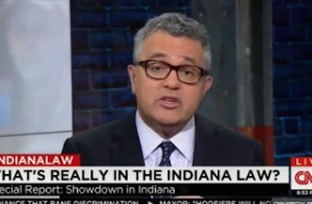 CNN Jeffrey Toobin compares RFRA supporters to segregationists