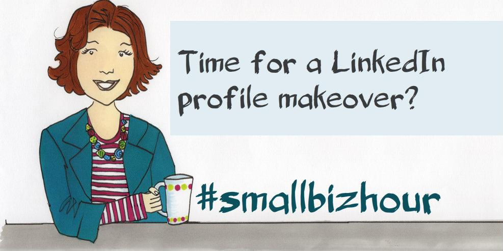 Tonight's topic is LinkedIn: who uses it already? Who wants to know more? Who can help? #smallbizhour http://t.co/lT301QE3Ju