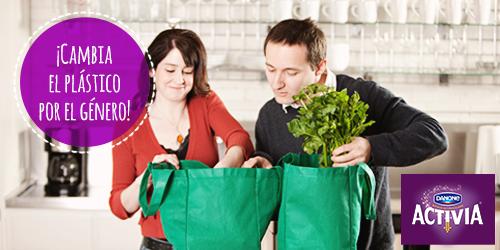 Cuando vayas por tus productos favoritos Activia, recuerda llevar tu propia bolsa. Así,contribuyes al medio ambiente. http://t.co/HGTAGP7pNb