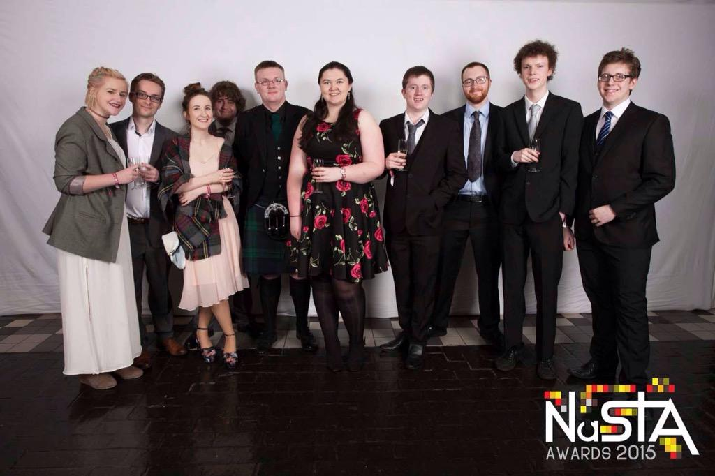 RT @Dithom64: @reallorraine DUSA TV winners of Best Broadcaster of the Year at NASTA this weekend...best student TV in UK http://t.co/n59eN…