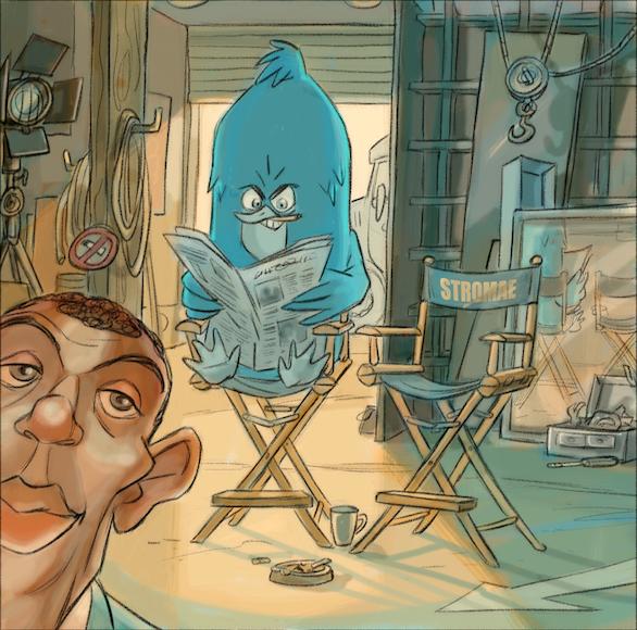 Selfie historique : @stromae et l'oiseau de @Twitter ! Plus de VIPs sur son @instagram https://t.co/qKpvGP4fZr http://t.co/hvXnpIB6tc