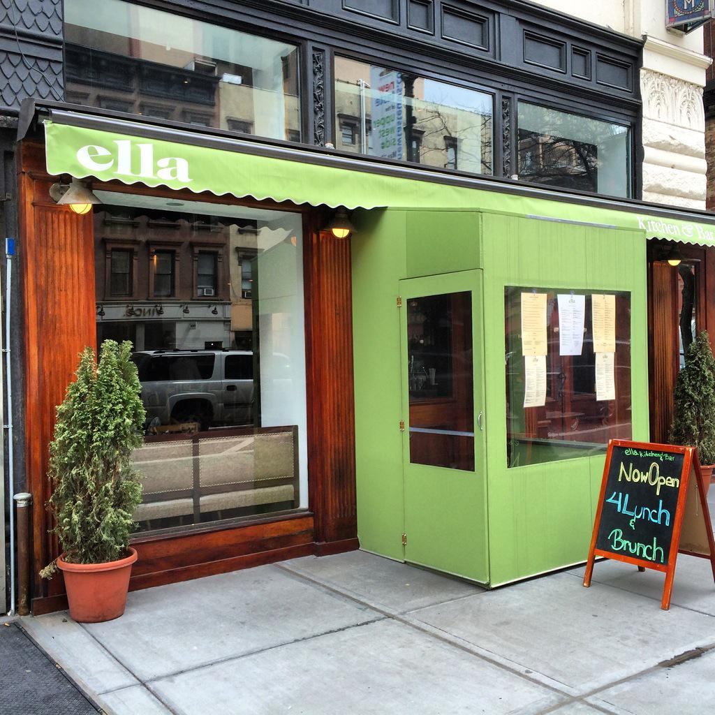 Ella Kitchen Bar On Twitter Isn T Our Chartreuse Awning Just Lovely Nyc Uws Restaurants Centralpark Tapas Http T Co Hyz8qlrry3