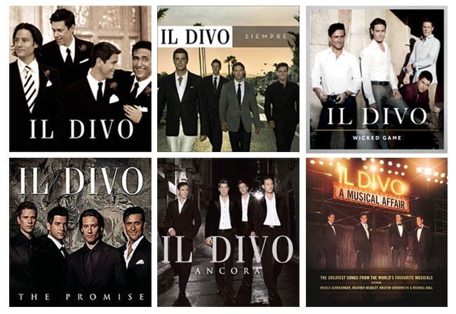 Il divo ildivoofficial twitter - Il divo discography ...