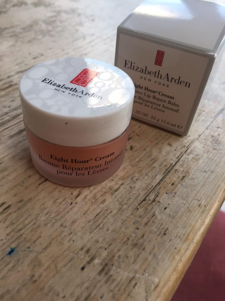 I ❤️ my little pot of eight hour cream!!! Thank you sooo much @ElizabethArden http://t.co/TOlrygHTmK