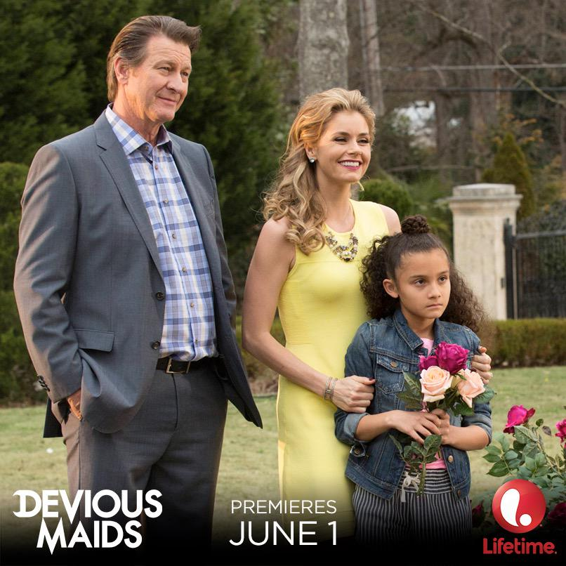 Season 3 of @DeviousMaids premiering June 1st!  Here is a recent still from set! #DeviousMaids #DeviousArmy http://t.co/KdqpkFjpG3
