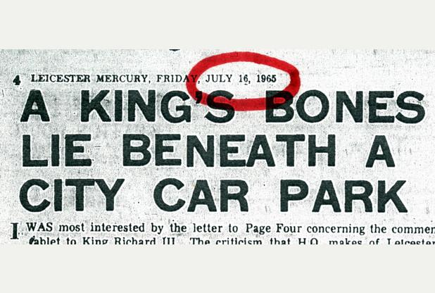 """@Leicester_Merc: Who knew king @richard_third was buried in a car park? http://t.co/v1ExI6FcpO http://t.co/OdEECowS7j"""