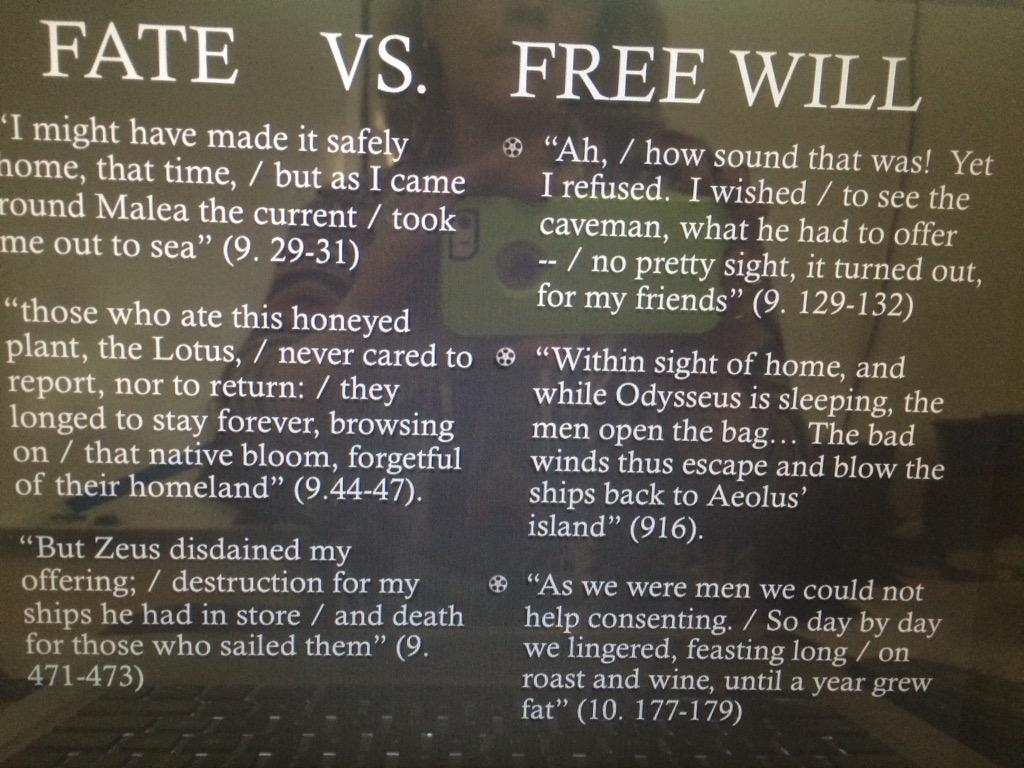 macbeth fate vs free will essay Struggling with themes such as fate and free will in william shakespeare's  macbeth we've got the quick and easy lowdown on it here.