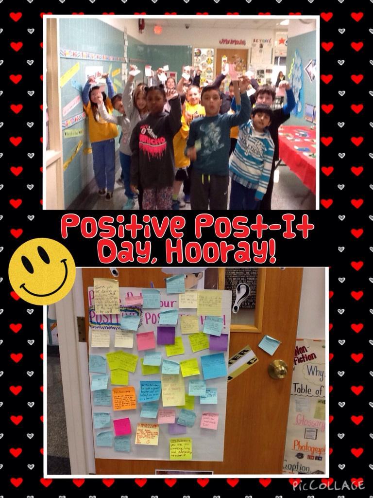 Positive Post-It Day @TonySinanis #cantiague http://t.co/U1ppJ3To8b