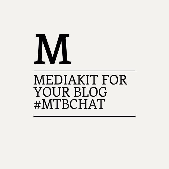 Tonight in our blogchat we talk about creating a #mediakit Are you joining #MTBchat by @Meettheblogger ? http://t.co/nlStM30iBv