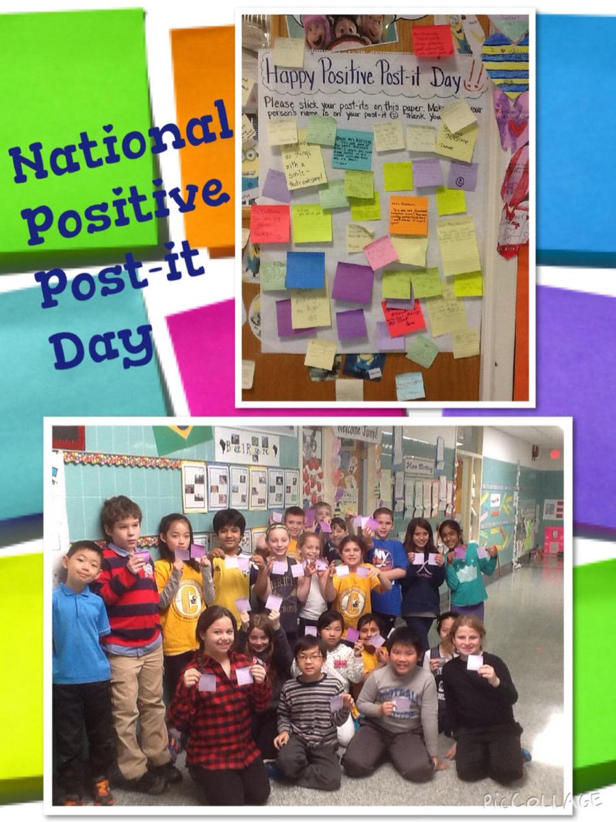 @TonySinanis #cantiague #PositivePostitDay Mrs. Korrow's 3rd gr excited about sharing their post-it's http://t.co/GRZWFnGOwq