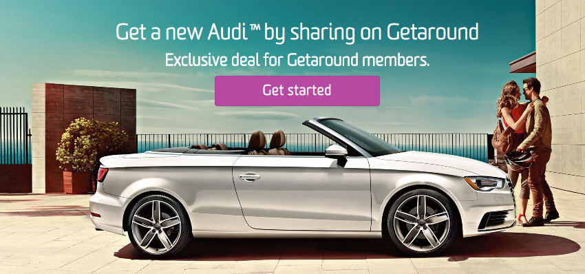 Getaround On Twitter Have You Heard We Partnered With Audi SF To - Audi sf