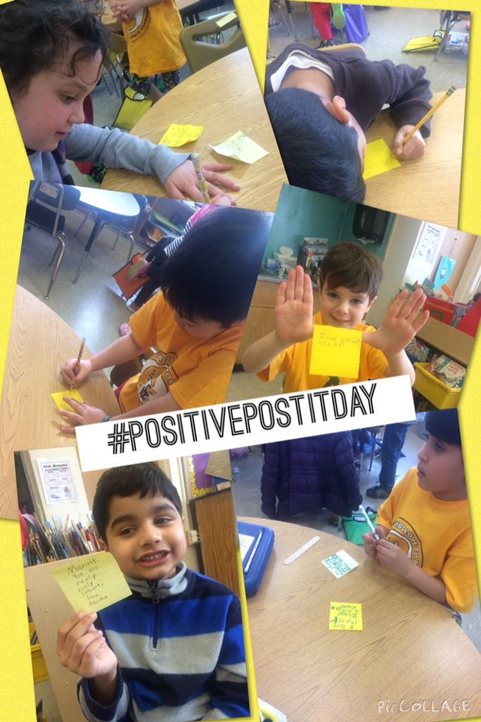 Writing kind words to each other for #positiveposititday leaving us feeling so happy! #Cantiague @TonySinanis http://t.co/csoJvU5cMZ