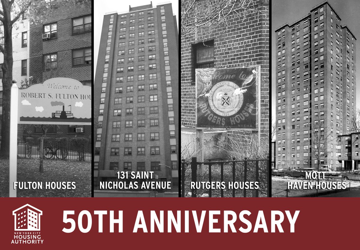 Nycha On Twitter Happy 50th Birthday To Nycha S Fulton Houses