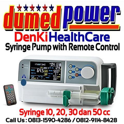 Syringe Pump with Remote Control DK-500SP DenKi Healthcare