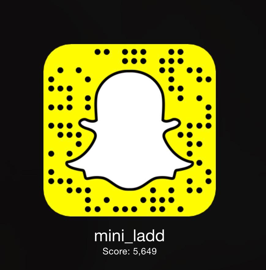 Mini ladd snapchat