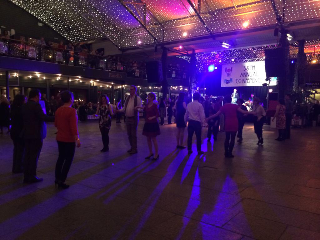 """@TAC_NISO: #UKSG15 Scottish dance lessons http://t.co/3RoP7t2ncm"" Go @KenChad !"