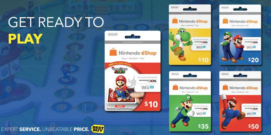Download you new favorite game. Save 10% on all #Nintendo eShop cards. http://t.co/EpdJTHdzLM http://t.co/0kU7mlNRyp