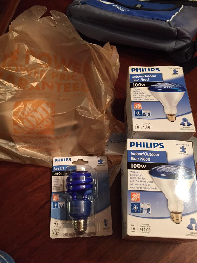 Got my lights, ready for #lightitupBlue @autismspeaks @MyAutism @HomeDepot http://t.co/xcipzLXcJo