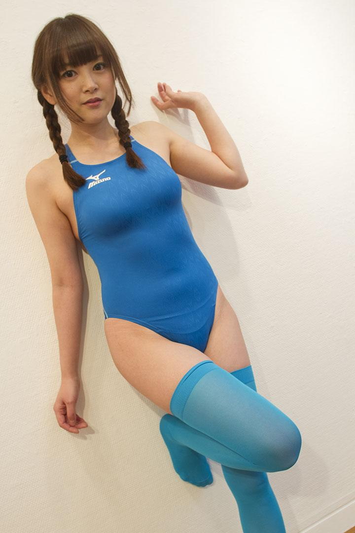 Asian girls wearing knee-high socks
