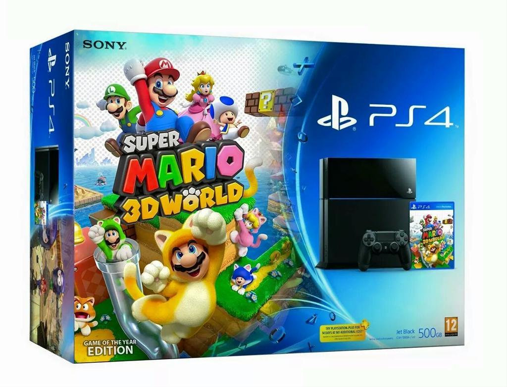 PS4 Super Mario 3D World Bundle