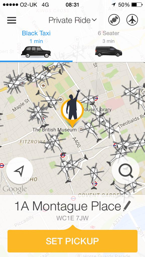 The launch of GetHeli is finally here. Fly in style over #London like a commuting king and get a chopper in one tap. http://t.co/nBN1kMo397