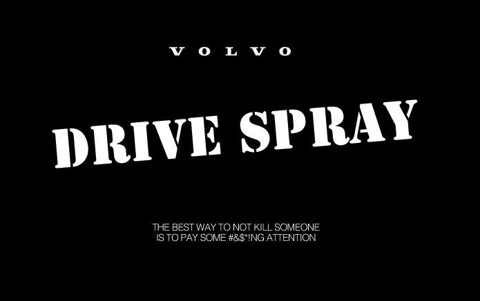 Drive Spray (TM) innovative new spray for drivers: causes them to slow down, turn off phone and pass safely. http://t.co/FXX3YXGKcA
