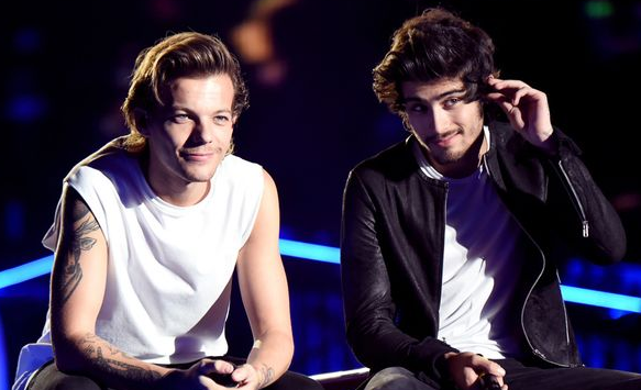 Louis Tomlinson appears to DENY that Zayn Malik's solo song with Naughty Boy is 1D reject tune http://t.co/UEmkp7742A