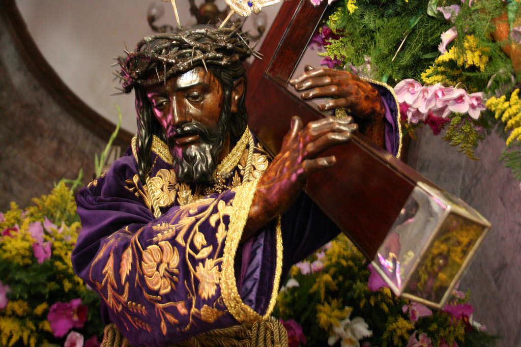 nazareno, veneración, santa teresa, semana santa, miércoles santo
