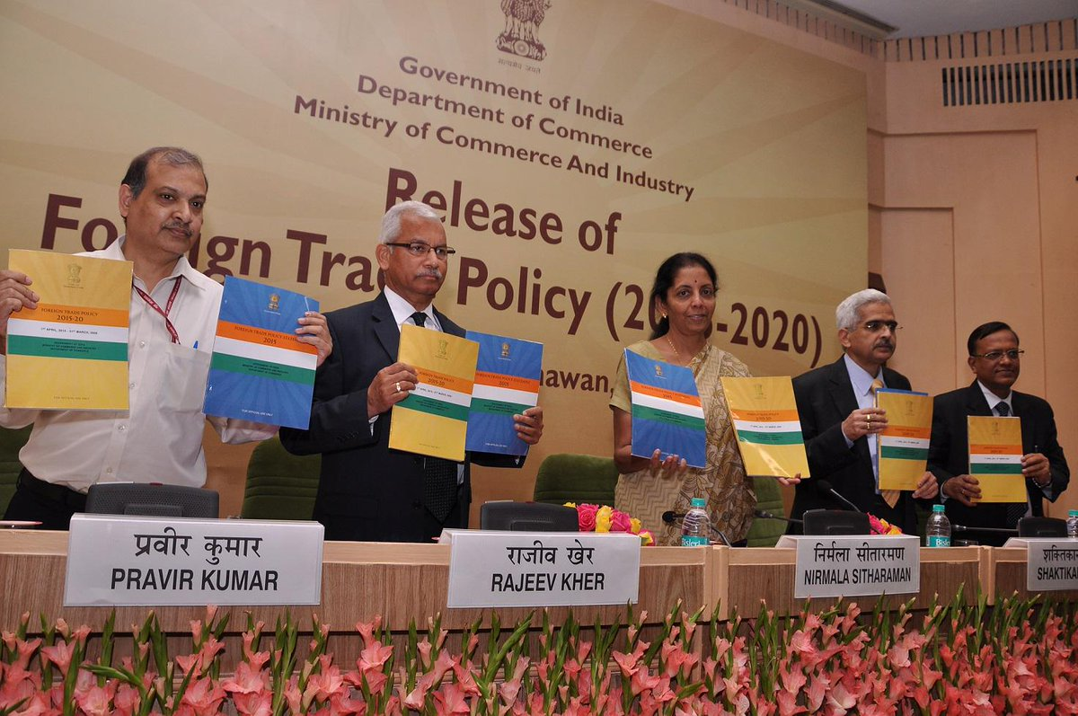 Thumbnail for Foreign Trade Policy (2015-2020) unveiled