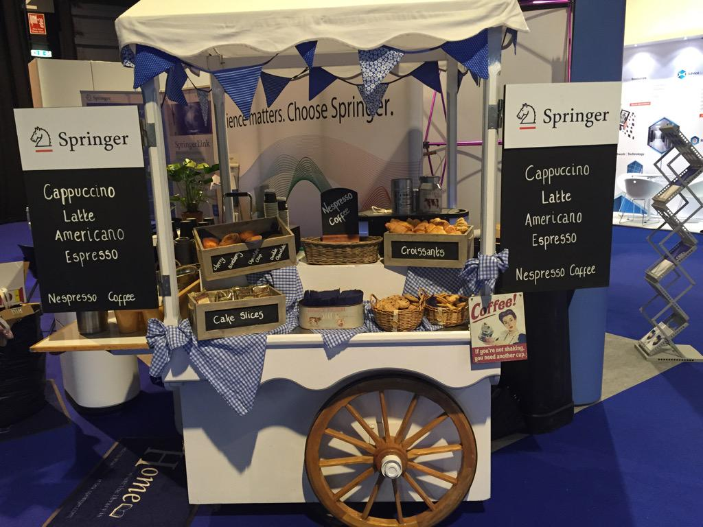 Just waiting for our team from #Scotland to finish @SECCGlasgow attending to #UKSG15 with Coffee & Breakfast Cart http://t.co/myxhJrjxLY