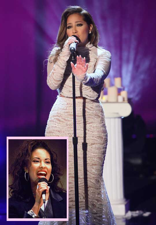 ICYMI! #AdrienneBailon sings! Listen to her pay tribute to #Selena HERE! http://t.co/Wai1h7e9sj http://t.co/Lbq6Afcs21