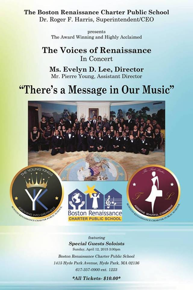 You are cordially invited to the VOR spring concert, April 12 at 3pm. #brcps #voicesofrenaissance #childrenschoir
