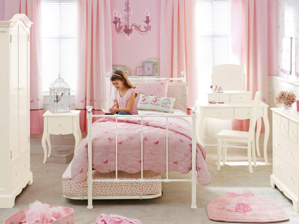 фото интерьера комнаты для двух девочек подростков
