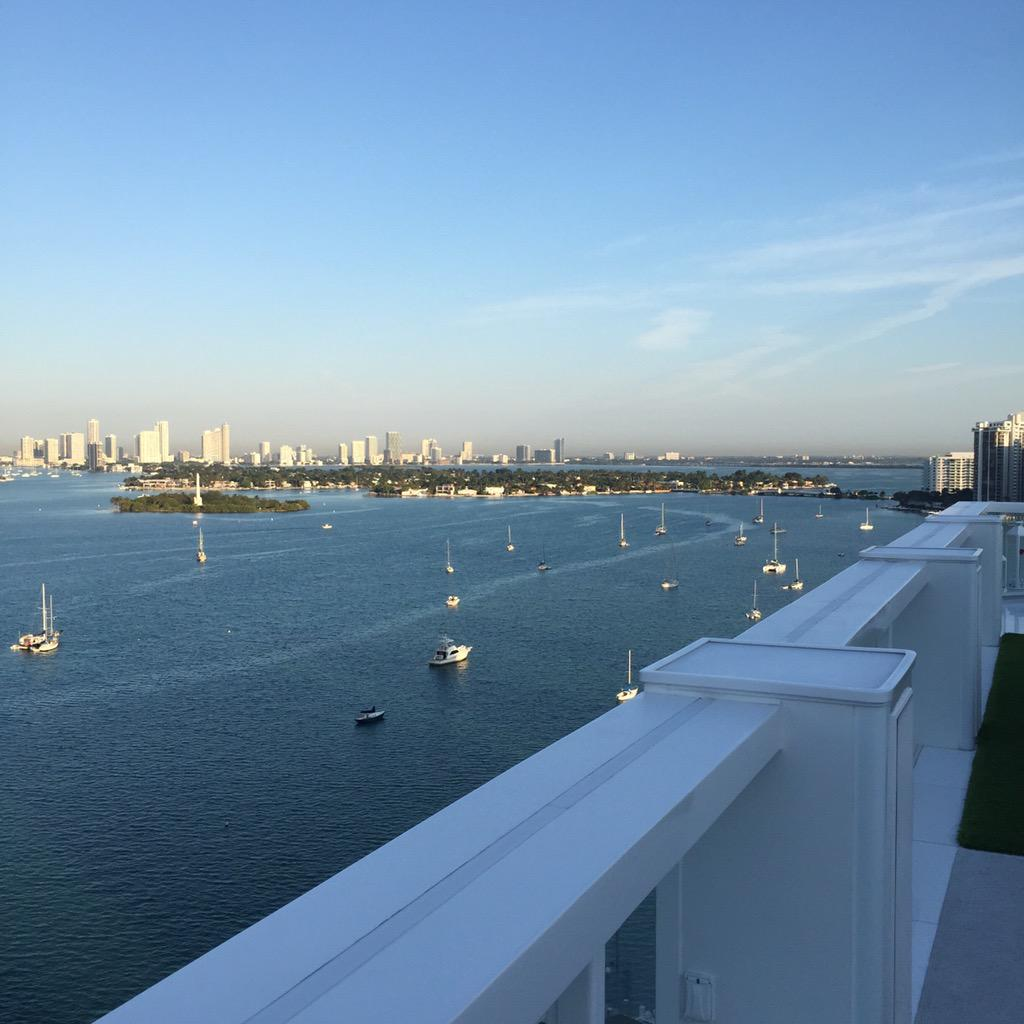 Good morning Miami. Thankful. http://t.co/LCphrsgDad