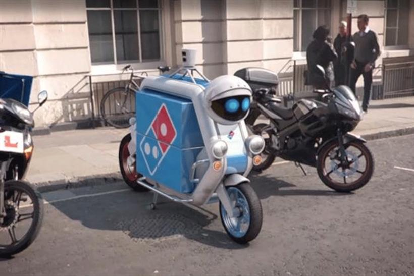 .@Dominos_UK launches driverless pizza delivery vehicles #AprilFools http://t.co/He4DsRdSd1 @MarketingUK http://t.co/h78RCmGJ4Z
