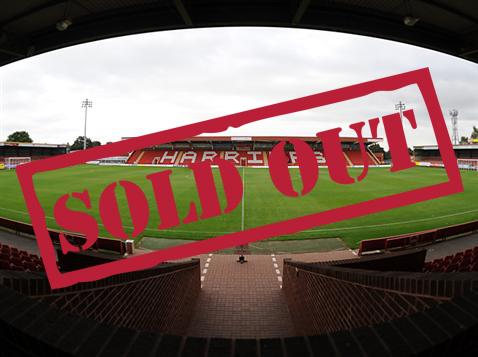 TICKETS: Bristol Rovers have completely sold out their 2,604 ticket allocation for Kidderminster on Monday!