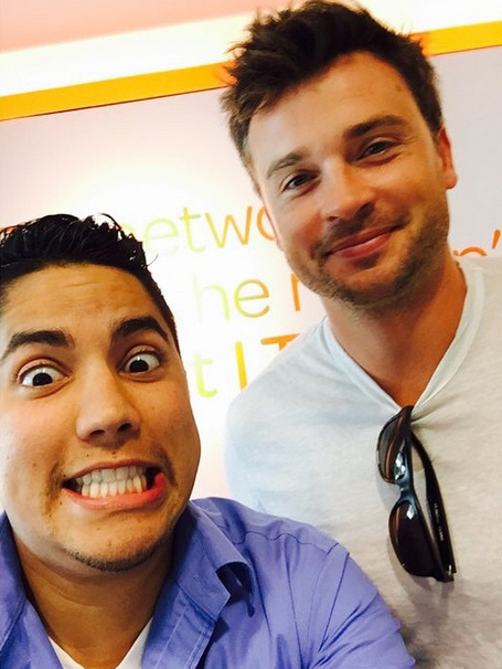 New pic Thanks lynn_p7 Instagram #TomWelling http://t.co/Cbx4sqklzs