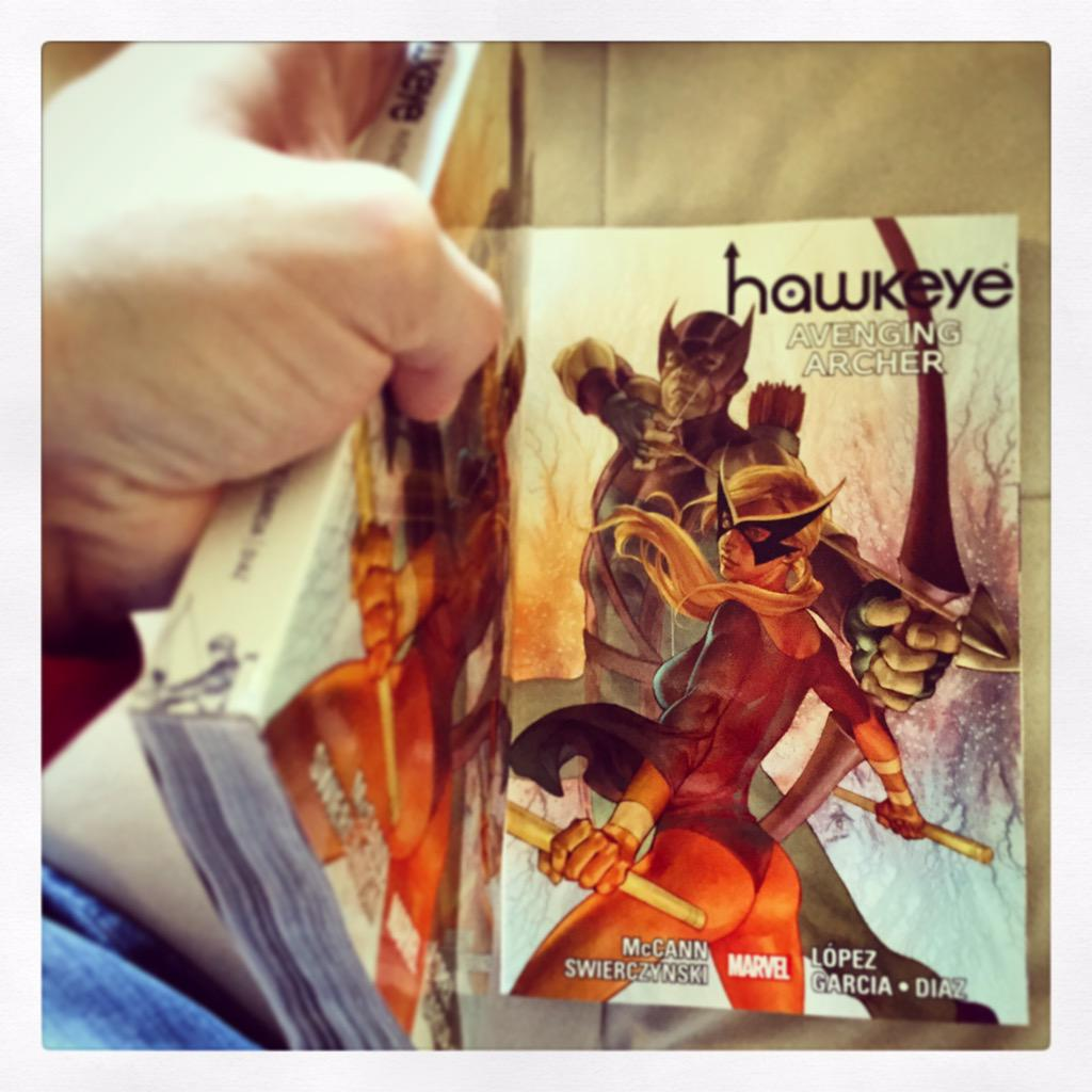 Jim McCann On Twitter Grab This Today HAWKEYE AVENGING ARCHER My Full 480 Pg Run Of Hawk Mockingbird From Marvel Tco 5Fvivp175S