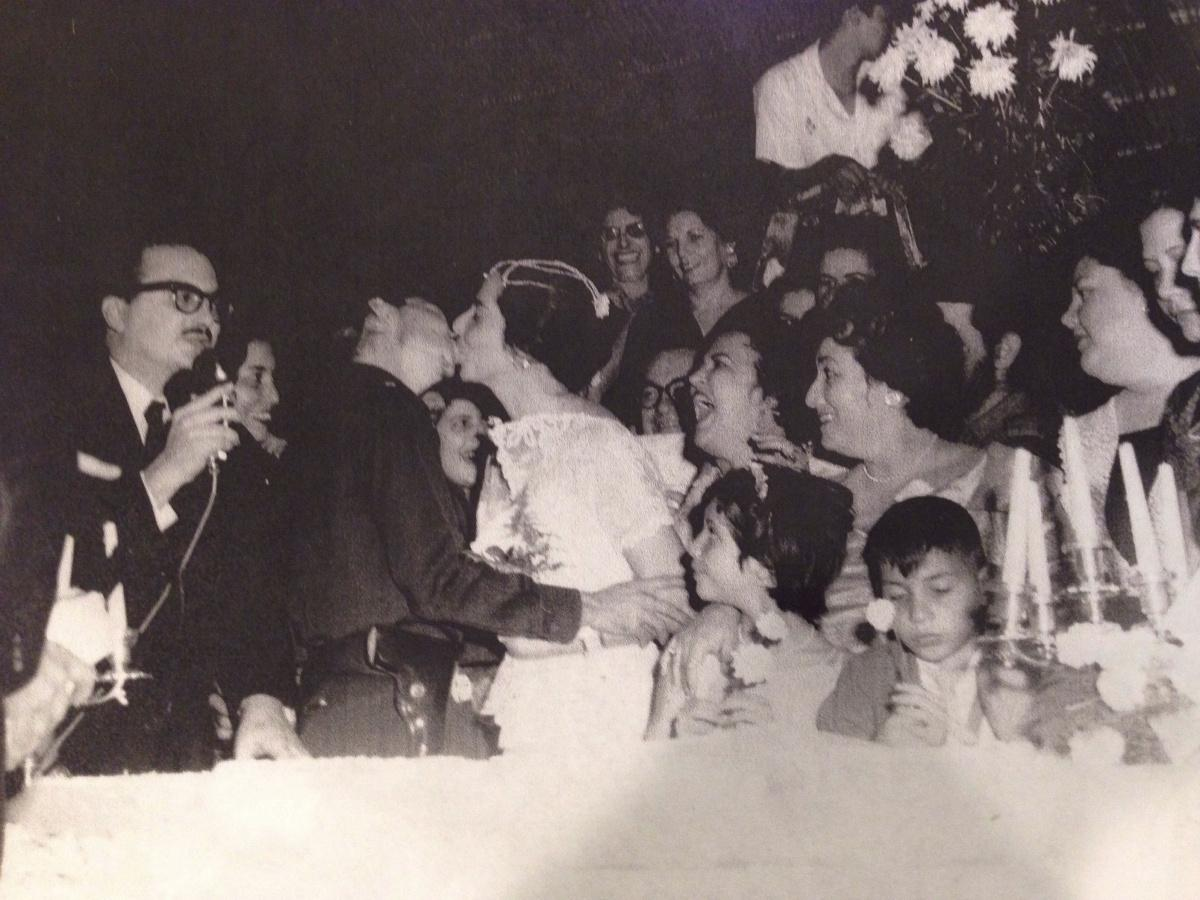 vanl on twitter quotmy mother as flower girl at raul castro