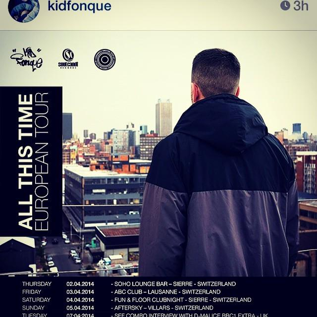 RT @martinatjazz: Kid Fonque - He's on route to Europe. #lookout #arcolabel #soulcandi South Africa up in the place. @kidfonque @soul… http…